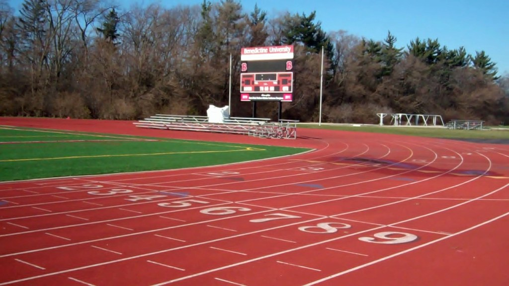 Benedictine University Finish Line